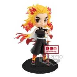 Kimetsu No Yaiba: Demon Slayer - Q Posket Kyojuro Rengoku Version A Banpresto figure