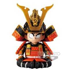 Figura Banpresto Dragon Ball Z - Kid Goku Japanese Armor & Helmet Ver. A