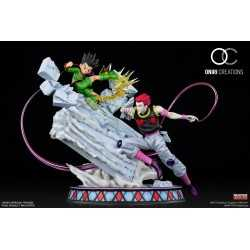Figura Oniri Creations Hunter x Hunter - Gon Vs Hisoka (Battle At The Heavens Arena)