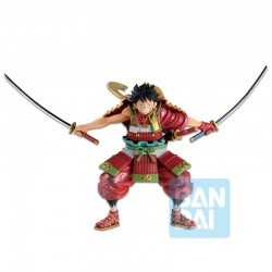 Figura Banpresto One Piece - Ichibansho Armor Warrior Luffy