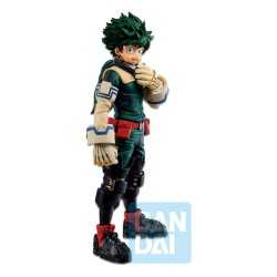 Figura Banpresto My Hero Academia - Ichibansho Izuku Midoriya (Let's Begin!)