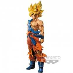 Figura Banpresto Dragon Ball Z - Super Master Stars Piece The Son Goku Manga Dimensions