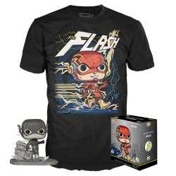 Figura Funko DC Comics - POP! & T-Shirt The Flash by Jim Lee