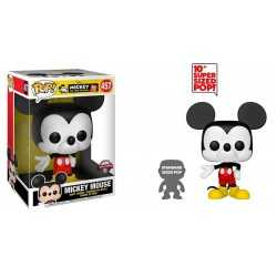 Figurine en vinyle Funko Disney - Super Sized Mickey Classic Color Special Edition POP!