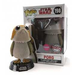 Figura en vinilo Funko Star Wars Episode VIII - Porg Flocked Special Edition POP!