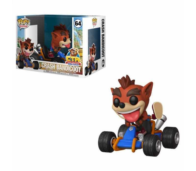 Figura Crash Bandicoot - Crash Team Racing POP! Rides