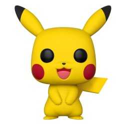 Figurine en vinyle Funko Pokémon - Super Sized Pikachu POP!