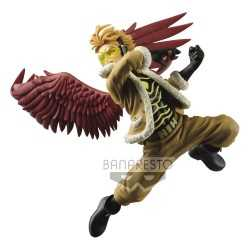 Figura en PVC Banpresto My Hero Academia - The Amazing Heroes Vol. 12 Hawks