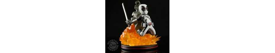 Figura Marvel - Q-Fig Deadpool X-Force Variant LC Exclusive