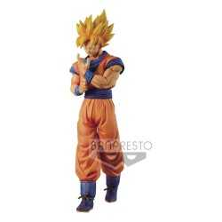 Figurine en PVC Banpresto Dragon Ball Z - Solid Edge Works Super Saiyan Son Goku