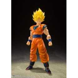 Figurine en PVC articulée Tamashii Nations Dragon Ball Z - S.H. Figuarts Super Saiyan Full Power Son Goku