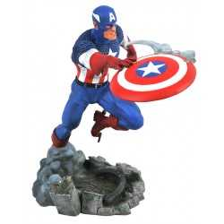 Figura de PVC Diamond Select Marvel - Marvel Gallery Vs Captain America