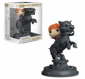Figura Harry Potter - Movie Moments Ron Riding Chess Piece POP!
