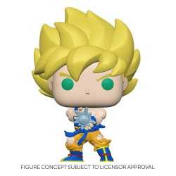 Figura Funko Dragon Ball Z - Super Saiyan Son Goku Kamehameha POP!