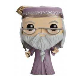 Figurine Harry Potter - Dumbledore with Wand POP!