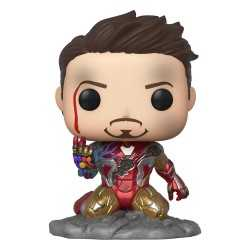 Figurine Funko Marvel Avengers: Endgame - Iron Man (I Am Iron Man) (GITD) POP!