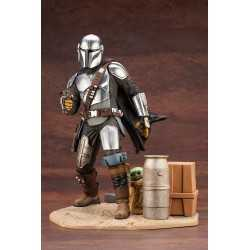 Figura Kotobukiya Star Wars: The Mandalorian - ARTFX 1/7 Mandalorian & The Child
