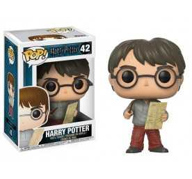Figurine Harry Potter - Harry Potter with Marauders Map POP!