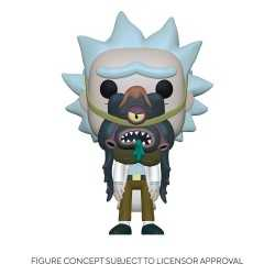 Figurine Funko Rick & Morty - Rick with Glorzo POP!