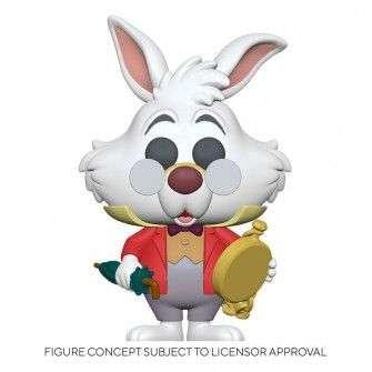 Disney Alice in Wonderland - White Rabbit with Watch POP! Funko figure