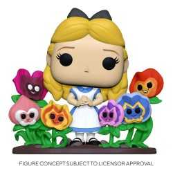 Figurine Funko Disney Alice au Pays des Merveilles - Alice with Flowers Deluxe POP!
