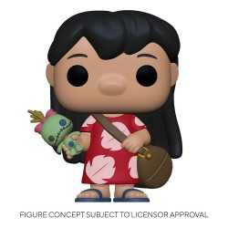 Figurine Funko Disney Lilo & Stitch - Lilo with Scrump POP!
