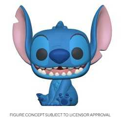 Figurine Funko Disney Lilo & Stitch - Smiling Seated Stitch POP!