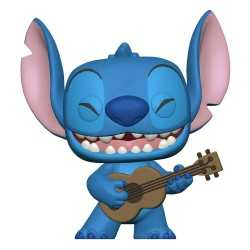 Figura Funko Disney Lilo & Stitch - Stitch with Ukulele POP!