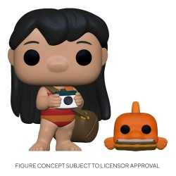 Figurine Funko Disney Lilo & Stitch - Lilo with Pudge POP! & Buddy