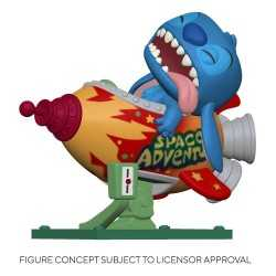 Figura Funko Disney Lilo & Stitch - Stitch in Rocket POP!
