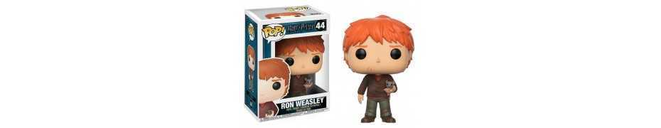 Figura Harry Potter - Ron Weasley with Scabbers POP!