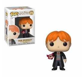 Figurine Harry Potter - Ron with Howler POP!