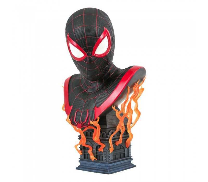 Marvel Gameverse - Legends in 3D Miles Morales Diamond Select bust