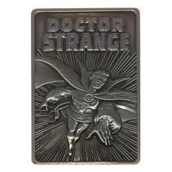 Placa de decoracion Fanatik Marvel - Lingote Doctor Strange Limited Edition
