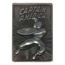 Placa de decoracion Fanatik Marvel - Lingote Captain America Limited Edition
