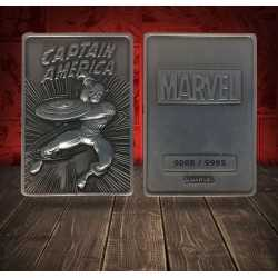 Marvel - Ingot Captain America Limited Edition Fanatik decorative plate 5