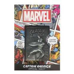 Marvel - Ingot Captain America Limited Edition Fanatik decorative plate 6