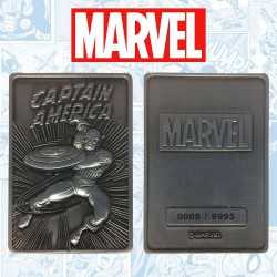 Marvel - Ingot Captain America Limited Edition Fanatik decorative plate 7