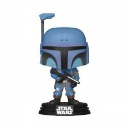Figurine Funko Star Wars: The Mandalorian - Death Watch Mandalorian Special Edition POP!