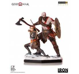 God of War - Deluxe Art Scale Kratos & Atreus figure