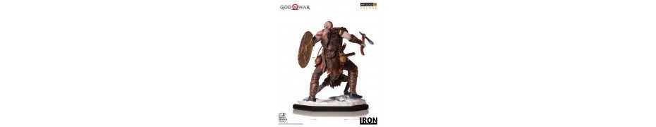 God of War - Deluxe Art Scale Kratos & Atreus figure 2