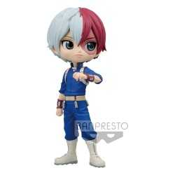 Figura Banpresto My Hero Academia - Q Posket Shoto Todoroki Version A