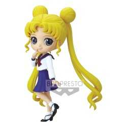 Figura Banpresto Sailor Moon Eternal - Q Posket Usagi Tsukino Ver. A
