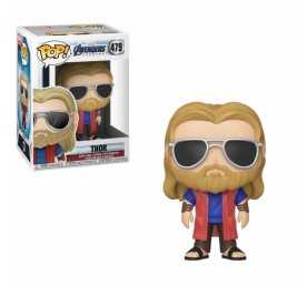 Figurine Marvel Avengers Endgame - Thor Vêtement civil POP!