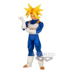 Figurine Banpresto Dragon Ball Z - Solid Edge Works Super Saiyan Trunks