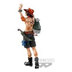 One Piece - World Figure Colosseum 3 Master Stars Piece The Portgas D. Ace (The Brush) Banpresto figure