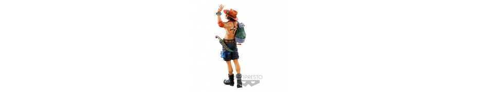 One Piece - World Figure Colosseum 3 Master Stars Piece The Portgas D. Ace (Two Dimensions) Banpresto figure