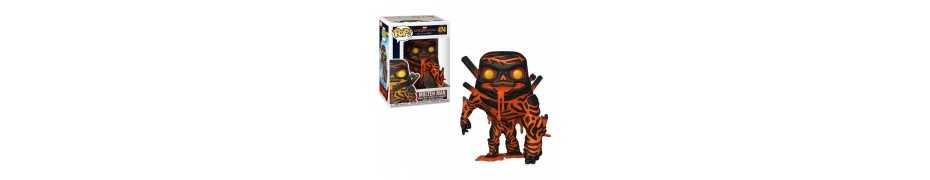 Figurine Marvel Spider-Man: Far From Home - Molten Man POP!