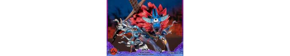 Okami - Oki (Wolf Form) Standard Edition First 4 Figures statue 2