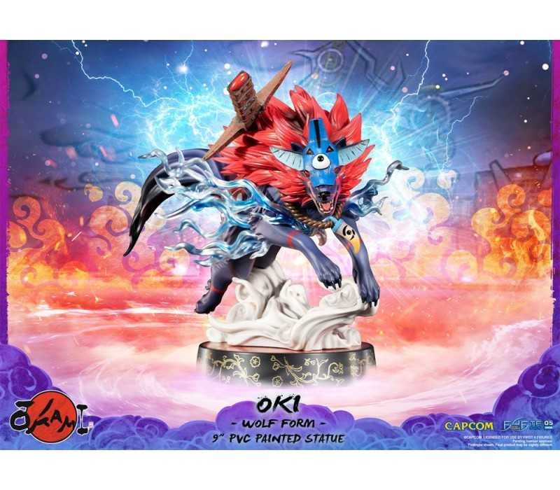 Okami - Oki (Wolf Form) Standard Edition First 4 Figures statue